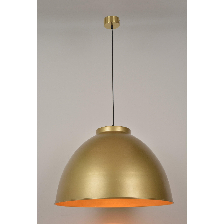 Suspension, industriel métal laiton COREP DOCK 1 lumière(s)