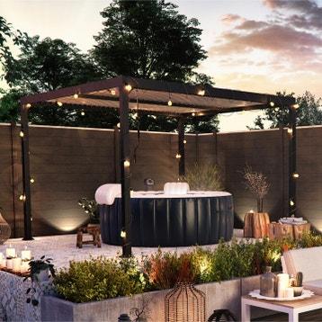 Tonnelle, Pergola, Toiture de terrasse au meilleur prix | Leroy Merlin