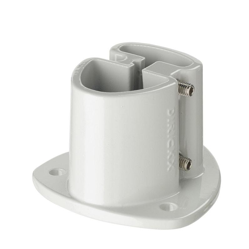 Platine Aluminium à Visser Pour Poteau Axor Grish11 Cm X Section 110x110x75 Mm