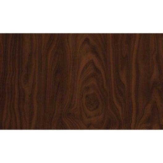 Rev tement adh sif bois marron fonc 2 m x m - Rouleau adhesif imitation bois ...
