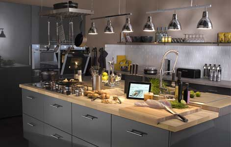 bien concevoir son lot de cuisine leroy merlin. Black Bedroom Furniture Sets. Home Design Ideas