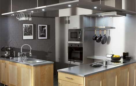 Bien concevoir son lot de cuisine leroy merlin - Ilot dans petite cuisine ...