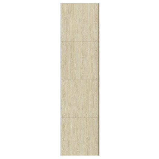 Portes coulissantes spaceo home 240 x 60 x 1 6 cm effet for Porte coulissante hauteur 60