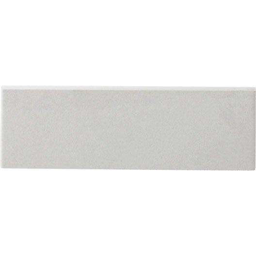 lot de plinthes gatsby blanc l x l cm with plinthe blanche. Black Bedroom Furniture Sets. Home Design Ideas