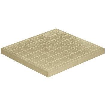 Tampon de sol antichoc pvc sable FIRST PLAST, L.30 x l.30 cm