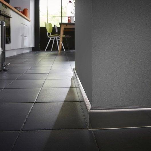 plinthe inox 15 x 60 mm l 2 5 m leroy merlin. Black Bedroom Furniture Sets. Home Design Ideas