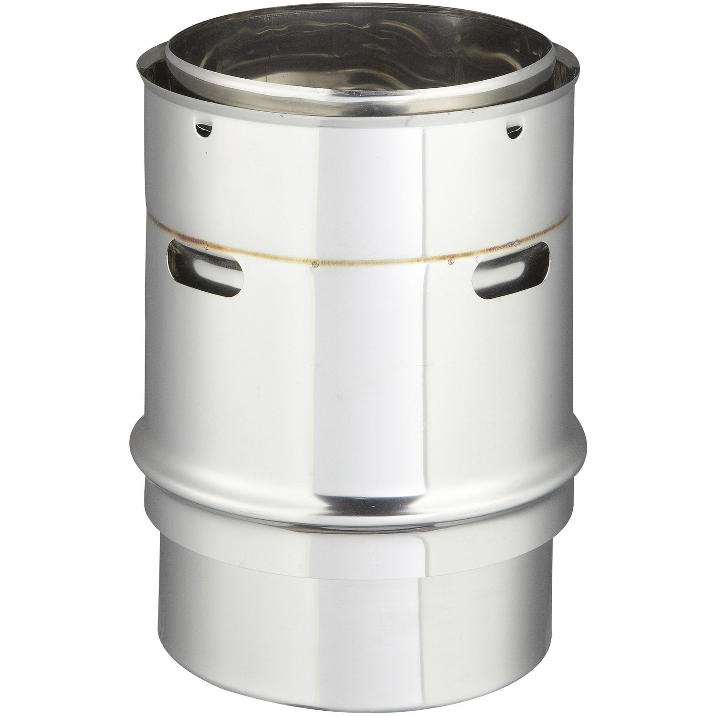 Raccord poele tubage pour tubage isotip joncoux d 150 15 - Norme tubage poele a bois ...