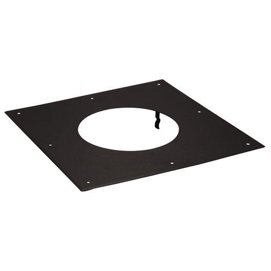 Plaque de propret pour tubage isotip joncoux d 200 40 cm for Plaque de finition poele