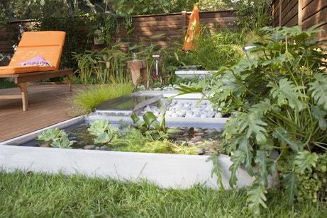 Des cours d'eau pour les plantations de votre jardin