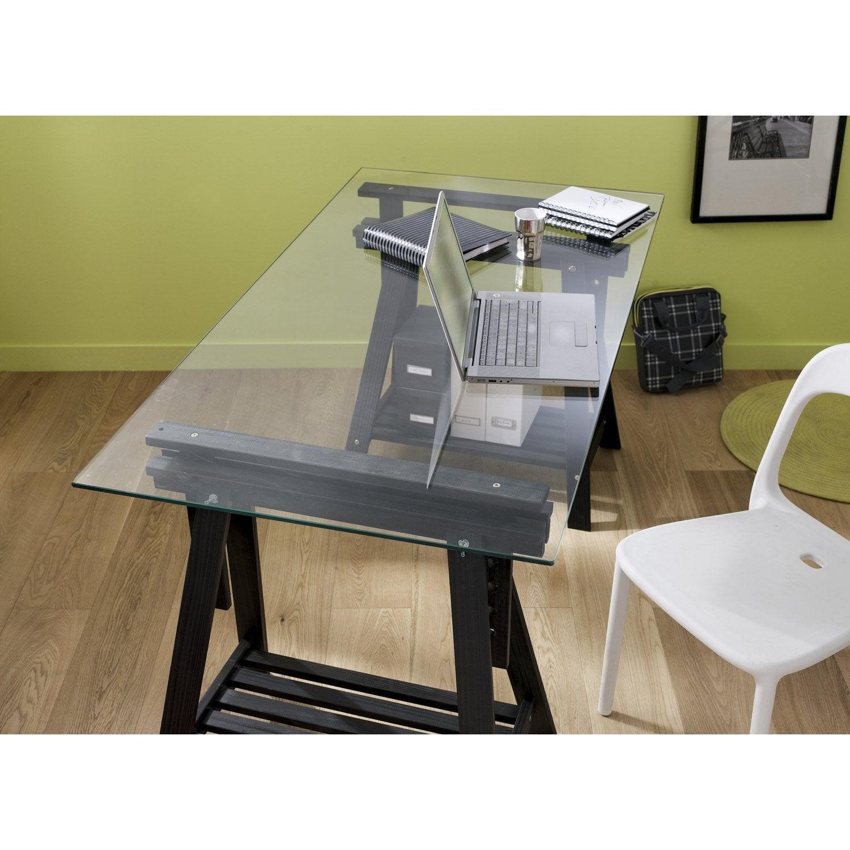 plateau de table et tr teau am nagement bureau au. Black Bedroom Furniture Sets. Home Design Ideas