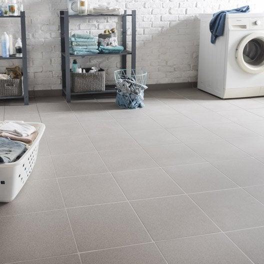Carrelage sol et mur gris effet b ton belfast x for Carrelage 30x30 gris
