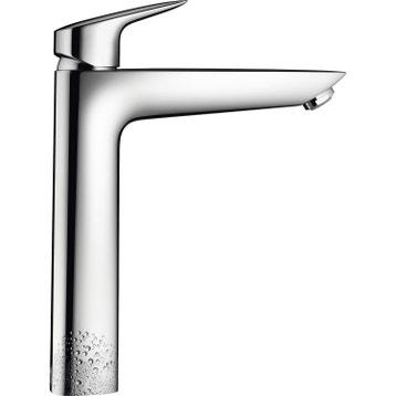 mitigeur de lavabo chrom brillant hansgrohe mycube xl - Mitigeur Haut Vasque