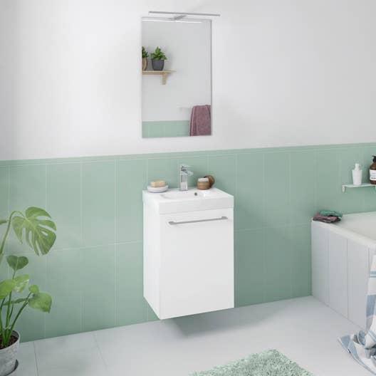 Meuble de salle de bains moins de 60 remix leroy merlin - Meuble salle de bain remix ...