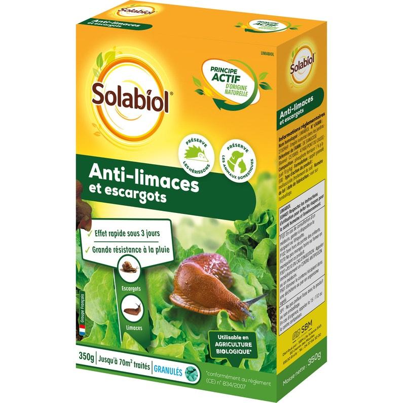 Granulés Antilimaces Solabiol 350g