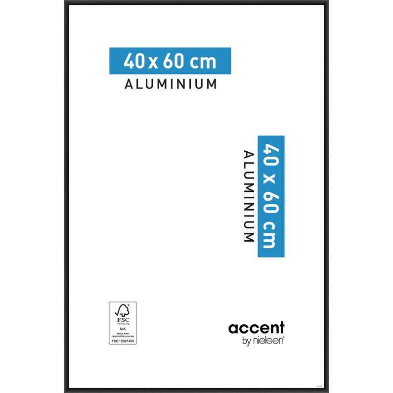 Cadre Accent 40 X 60 Cm Noir