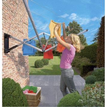 Etendoir, séchoir parapluie extérieur - Jardin au meilleur prix ... dbe54f540b98