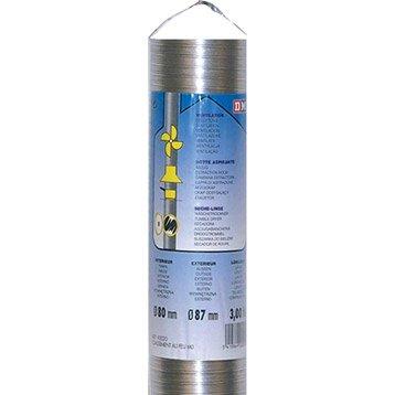 Flexible de ventilation air frais DMO - Diam.90 mm, L.1.50 m