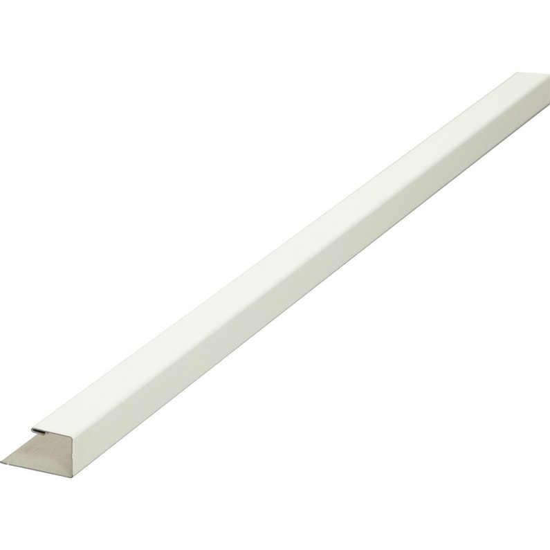 Finition Pour Clin Aluminium 30 X 30 Blanc 3 M