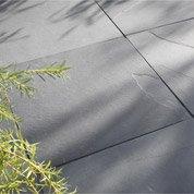 Dalle Gaya ardoise, noir, Ep.10 mm x L.60 x l.60 cm