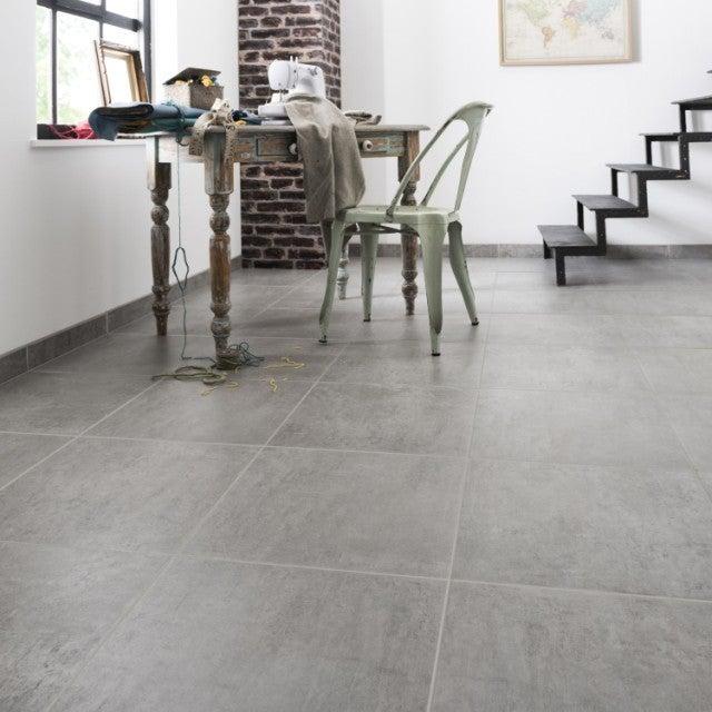 carrelage avec beton maigre pour