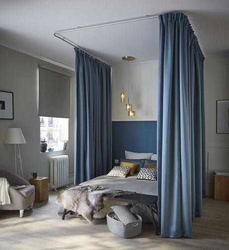 Un lit baldaquin pour encore plus d'intimité