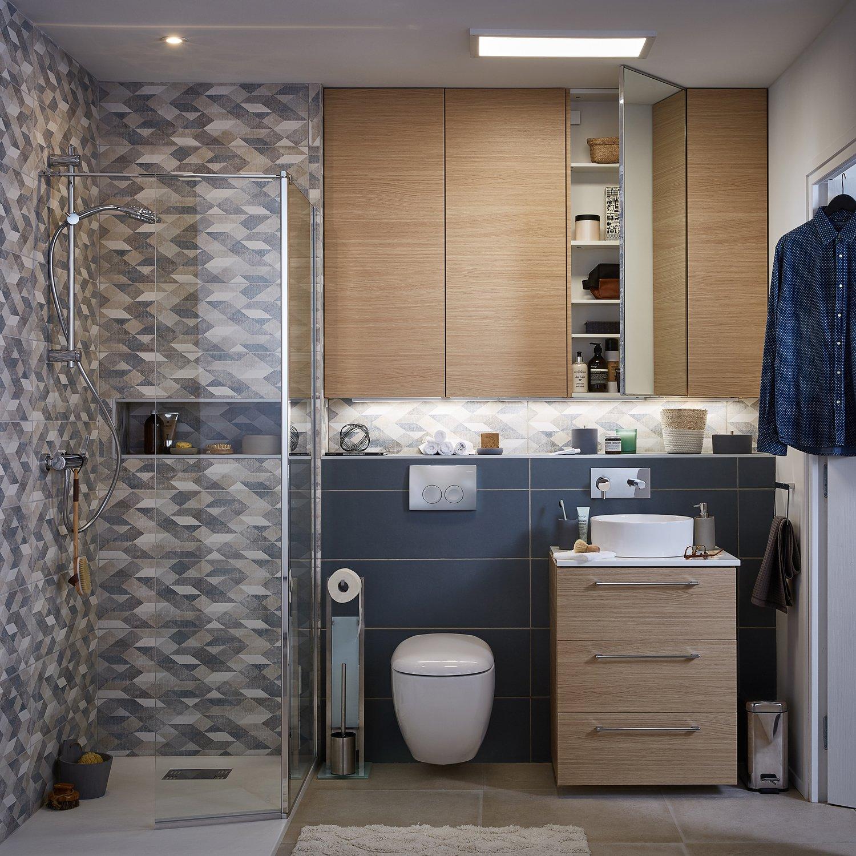 une salle de bains optimise et raffine