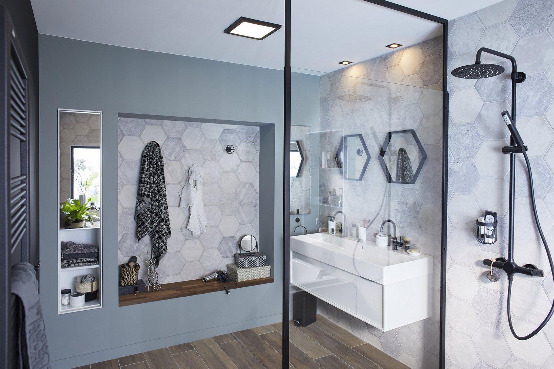 Espace Salle De Bain la salle de bains, un espace de détente | leroy merlin