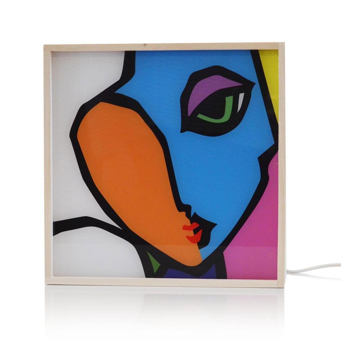 Boîte lumineuse, design, pvc, DADA LIGHT Lovely wink