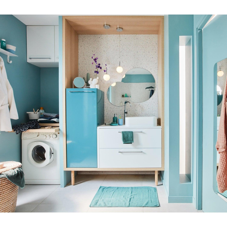 Meuble de salle de bains simple vasque, Remix