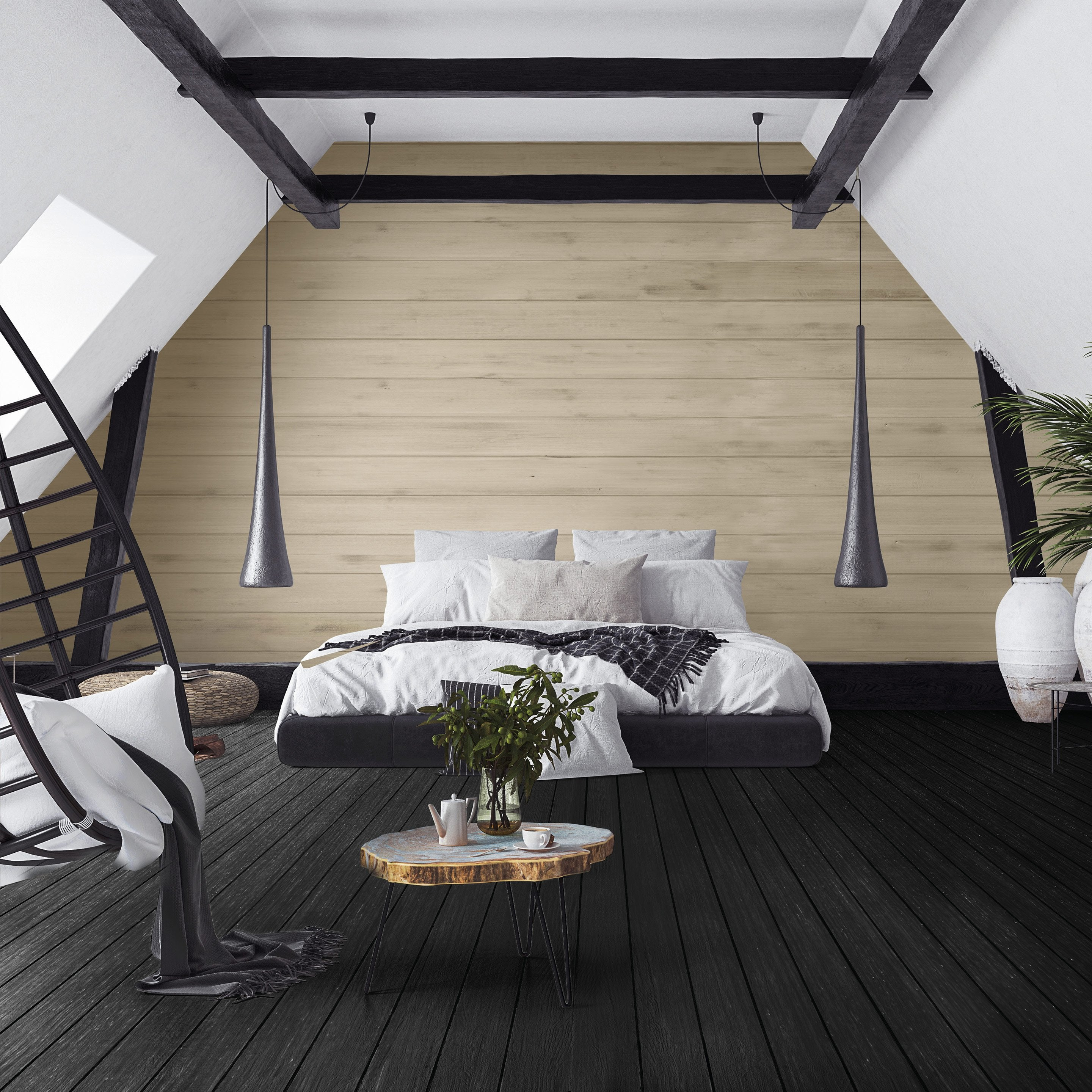 peinture sol int rieur relook bois maison deco noir 1 l. Black Bedroom Furniture Sets. Home Design Ideas