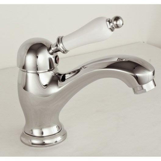 mitigeur de lavabo chromé england | leroy merlin