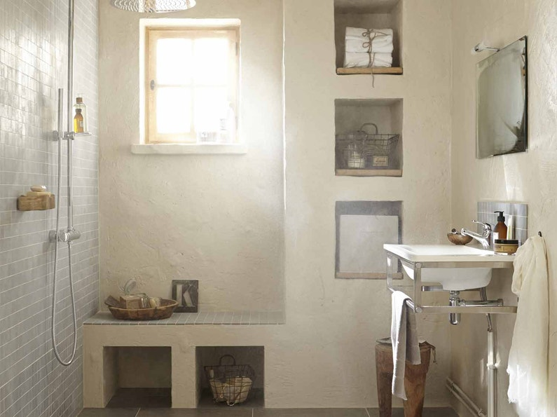 Rangement de salle de bains salle de bains leroy merlin - Leroy merlin etagere salle de bain ...