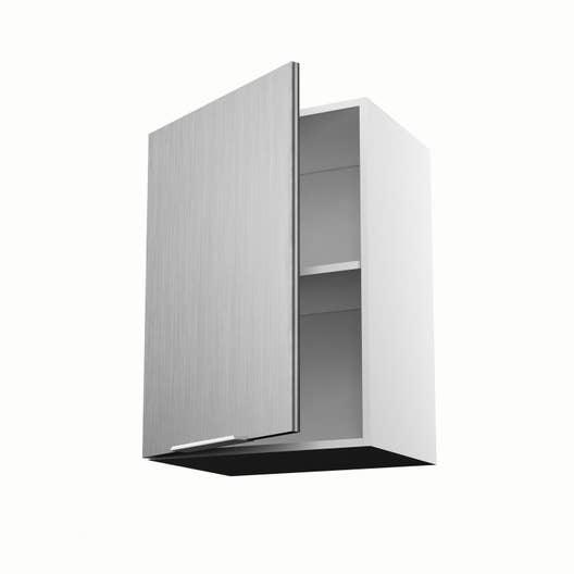 Meuble De Cuisine Haut Décor Aluminium Porte Stil H X L X P - Hotte de cuisine 50 cm