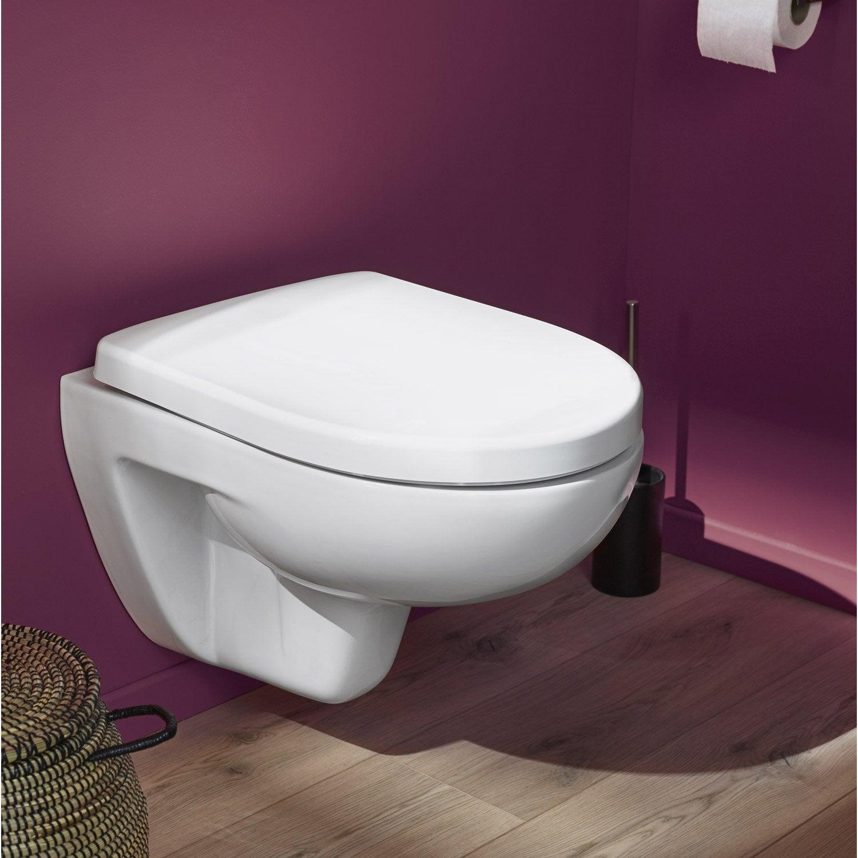pack wc suspendu b ti universel ristretto 4 pieds leroy. Black Bedroom Furniture Sets. Home Design Ideas