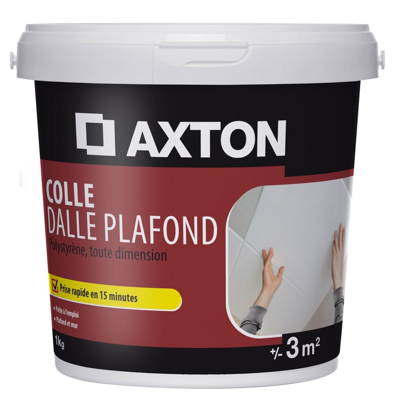 Colle Polystyrène Dalle Plafond Axton 1 Kg