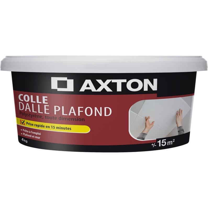 Colle Polystyrène Dalle Plafond Axton 4 Kg