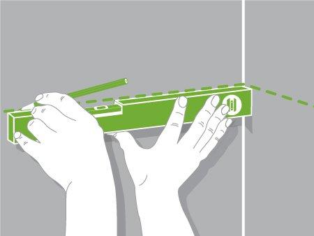 Comment monter une tag re sur tasseaux leroy merlin - Comment poser une etagere ...