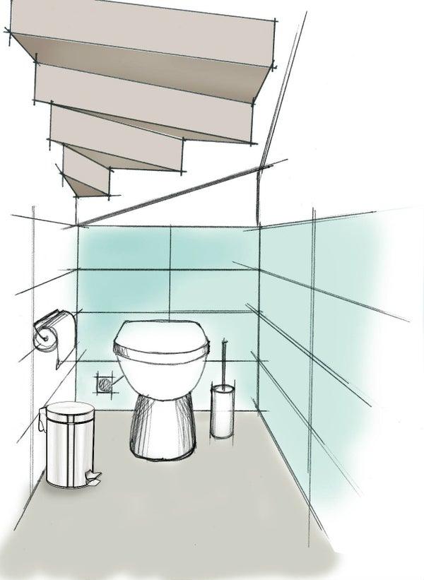3 id es pour am nager son wc leroy merlin. Black Bedroom Furniture Sets. Home Design Ideas