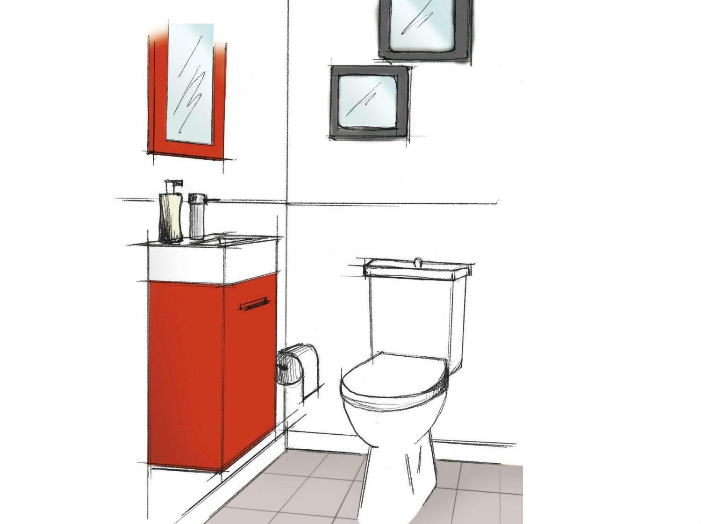 3 idées pour aménager son wc   leroy merlin