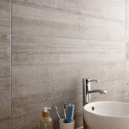 carrelage sol et mur gris clair effet b ton industry x cm leroy merlin. Black Bedroom Furniture Sets. Home Design Ideas