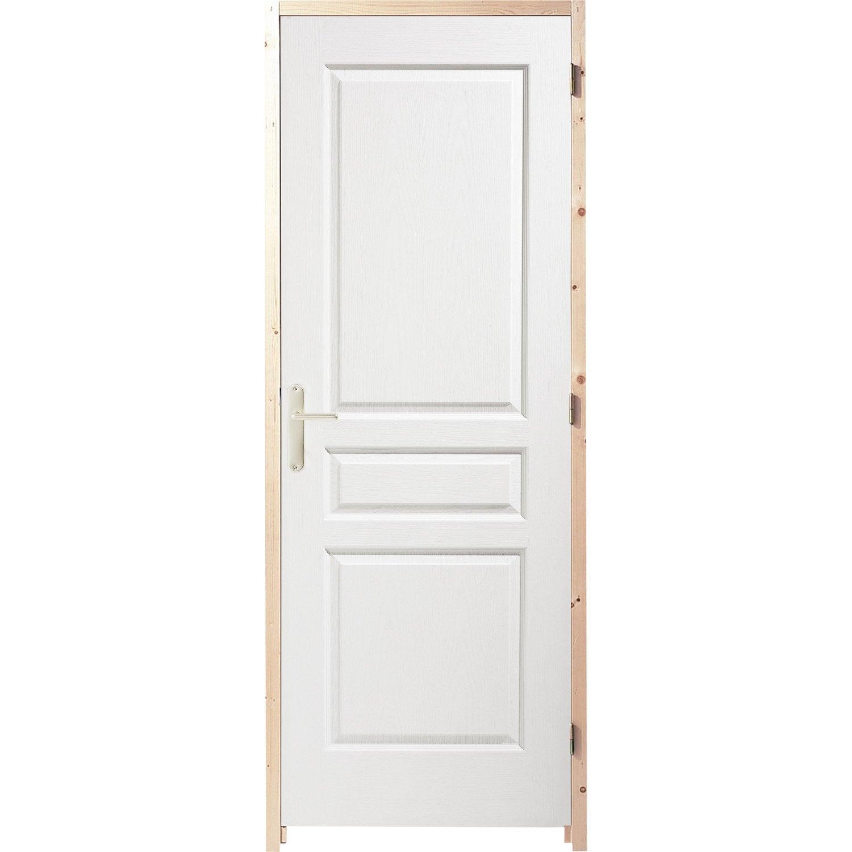 Bloc Porte Acoustique Postformé H.204 X L.63 Cm