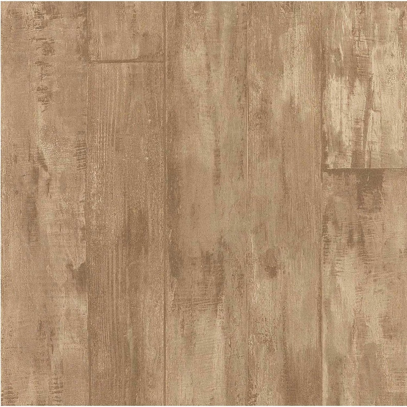 Papier peint ebene marron intissé cuisine et bain | Leroy Merlin