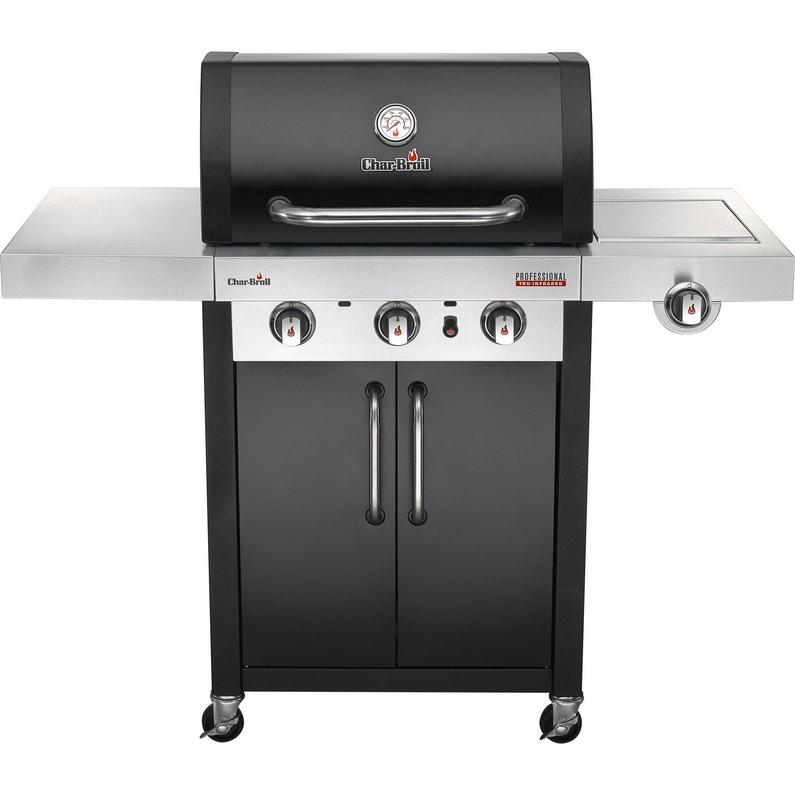 Barbecue Au Gaz Char Broil Professionnel 3400 Noir