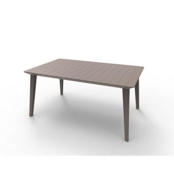 table de jardin aluminium bois r sine au meilleur prix leroy merlin. Black Bedroom Furniture Sets. Home Design Ideas