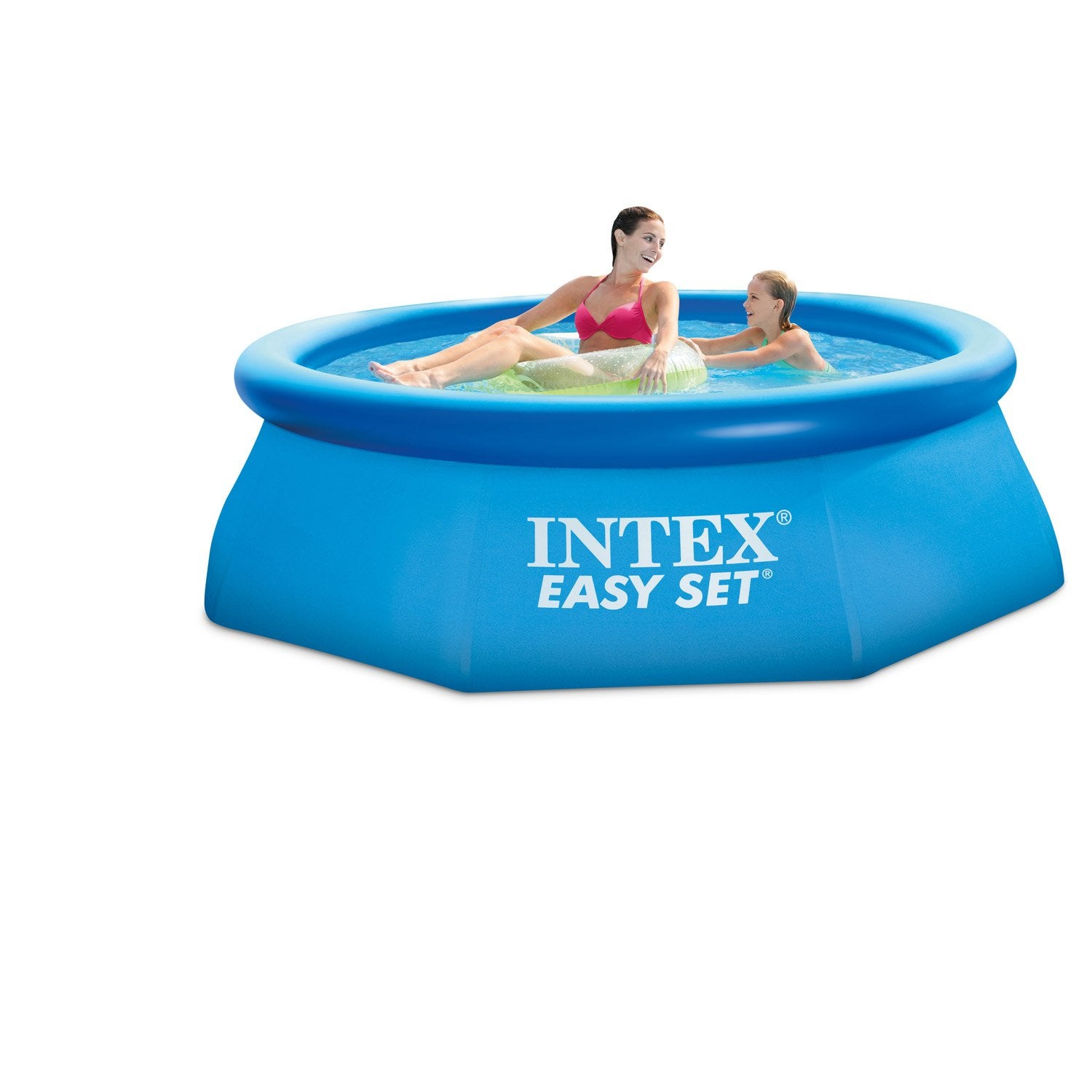 Piscine hors sol autoportante gonflable easy set intex x h for Piscine hors sol intex autoportante