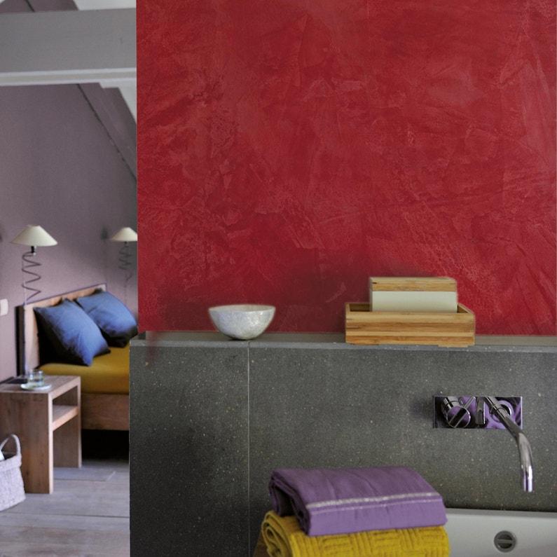 Peinture à effet, Tadelakt LUXENS, rouge corail 2, 5 l