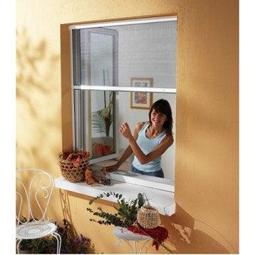 Moustiquaire pour fenêtre à enroulement vertical MOSKITOP H.100 x l.80 cm