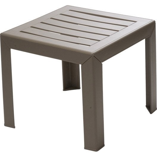 Beautiful Table Basse De Jardin Couleur Taupe Gallery - Awesome ...