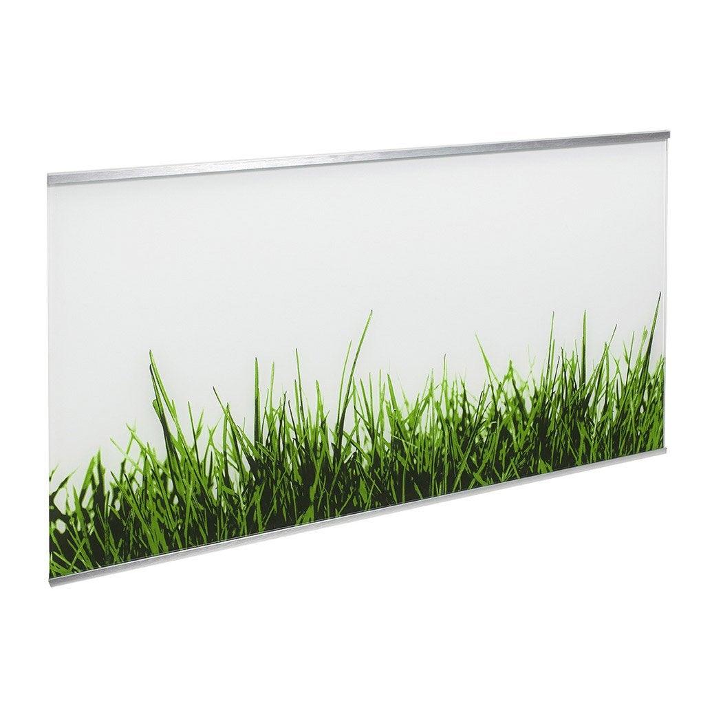 Crédence verre Décor gazon H.45 cm x L.80 cm | Leroy Merlin