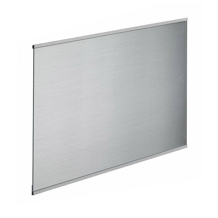 Fond de hotte verre Décor inox H.70 cm x Ep.5 mm x L.90 cm